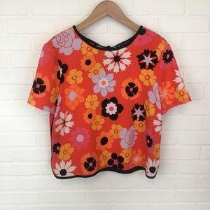 Victoria Beckham for Target Floral Blouse